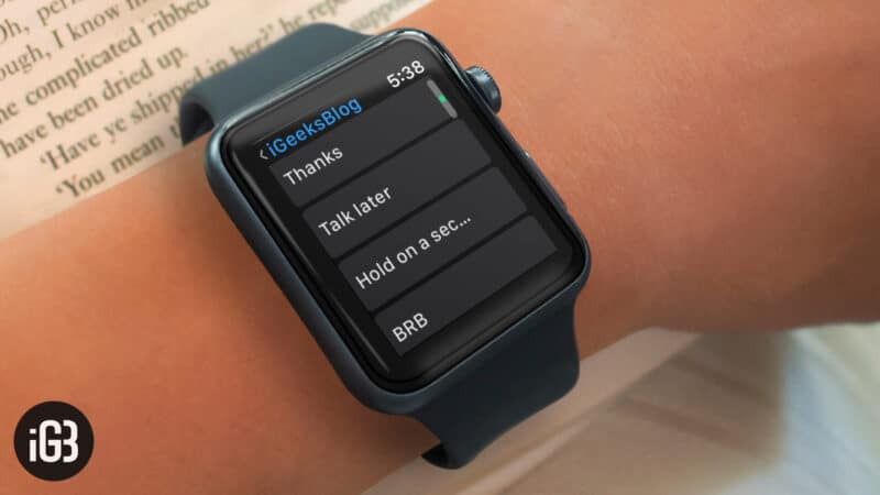 How to Set Default Send as Text Option on Apple Watch to Send Text Message