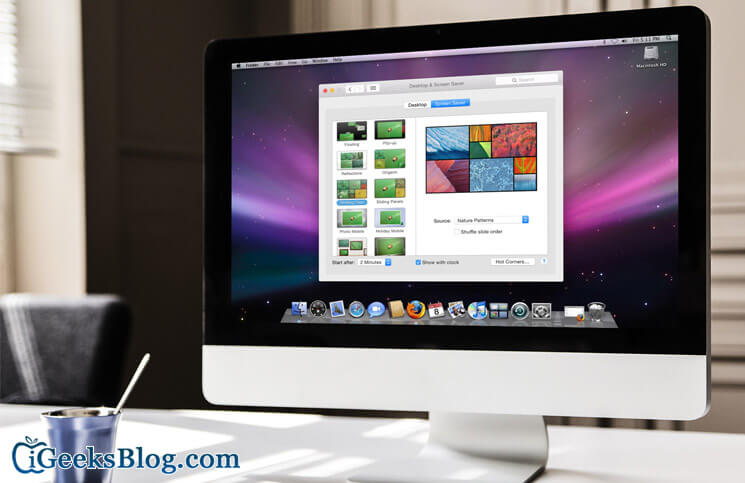 How to Set Photos Library as A Screen Saver on Your Mac