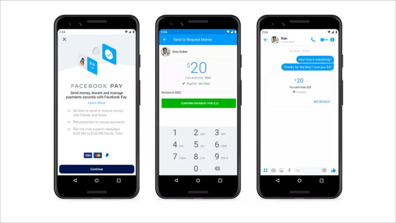 How to Set Up Facebook Pay on Facebook and Messenger App