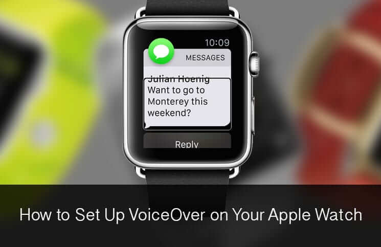 How to Set Up VoiceOver on Apple Watch