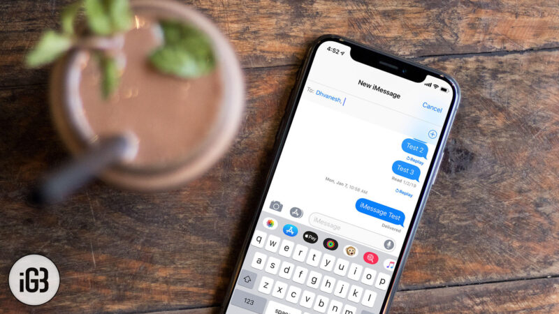 How to Set up iMessage On iPhone and Mac