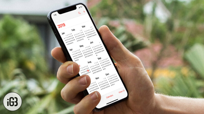 How to Share Calendars with Others from iPhone or iPad