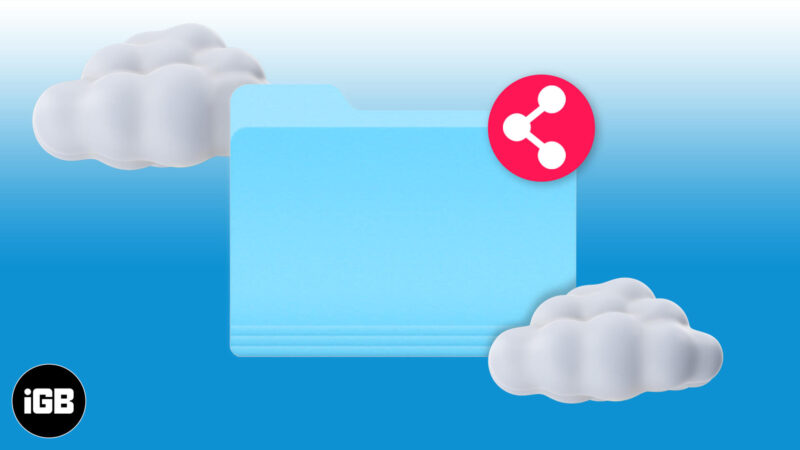 How to Share iCloud Drive Folders from iPhone and iPad