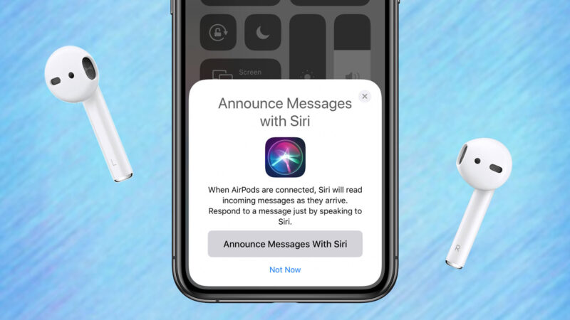 How to Stop Siri from Announcing Messages in iOS 13 on iPhone and iPad