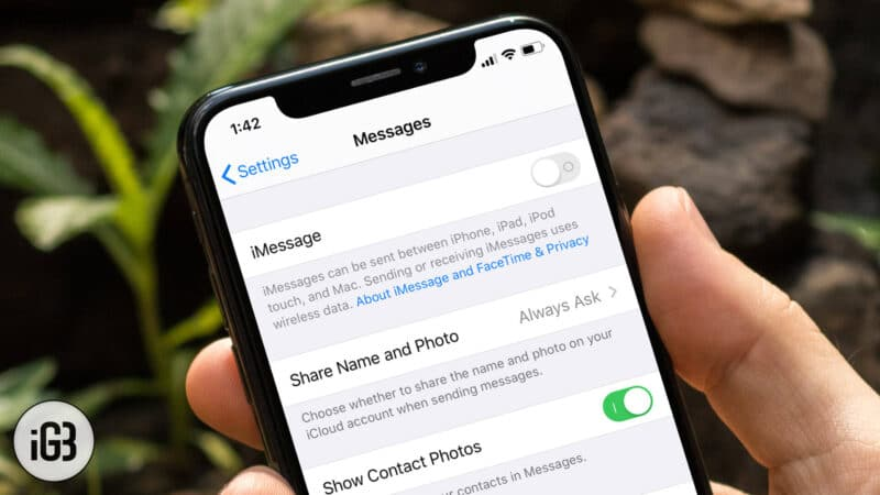 How to Stop iMessages From Going to iPad and Other Devices