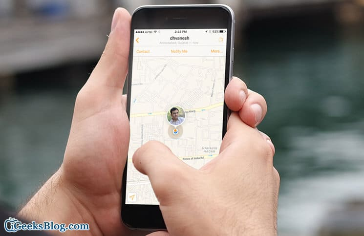 How to Track Friend's Location on iPhone Using Find My Friend App