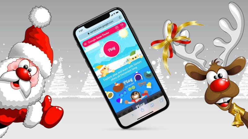 How to Track Santa Claus on iPhone, iPad, and Mac