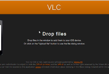 How to Transfer Movies and Videos to VLC for iPhone or iPad using Wi-fi Upload
