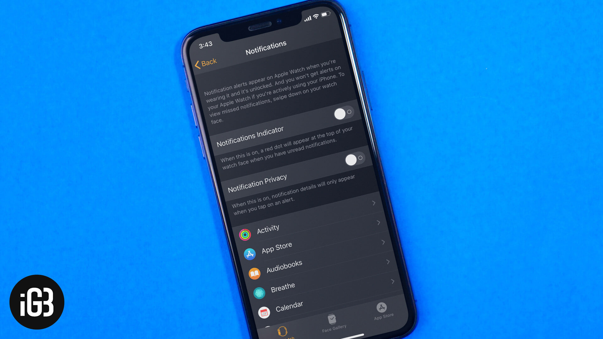 How to Turn Off Notifications on Apple Watch