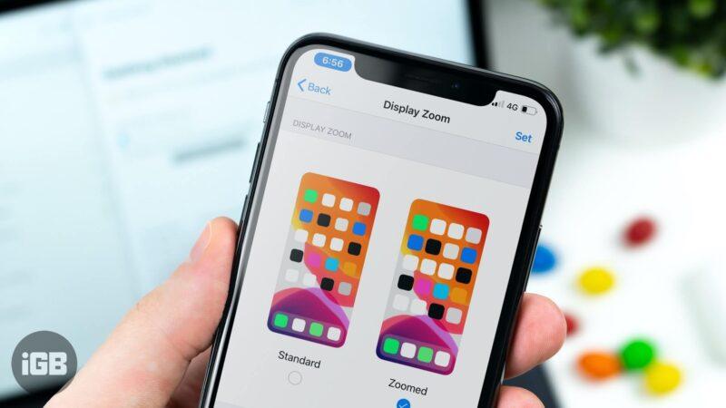 How to Turn On Display Zoom on iPhone or iPad