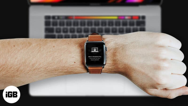 How to Unlock Mac with Your Apple Watch