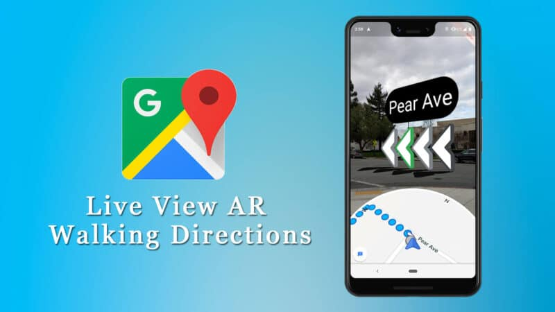 How to Use AR Walking Directions in Google Maps on iPhone