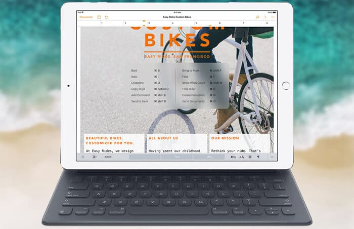How to Use Apple Smart Keyboard Shortcuts on iPad Pro