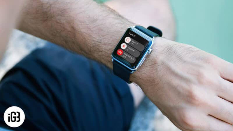 How to Use Apple Watch Emergency SOS Mode