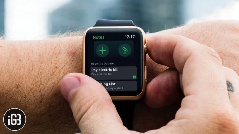 How to Use Evernote for Apple Watch