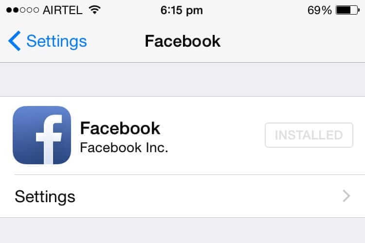 How to Use Facebook Profile Picture for iPhone Contacts