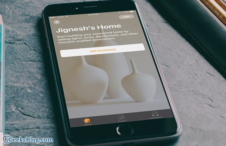 How to Use Home and Manage HomeKit Accessories on iPhone