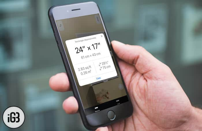 How to Use Measure App in iOS 12