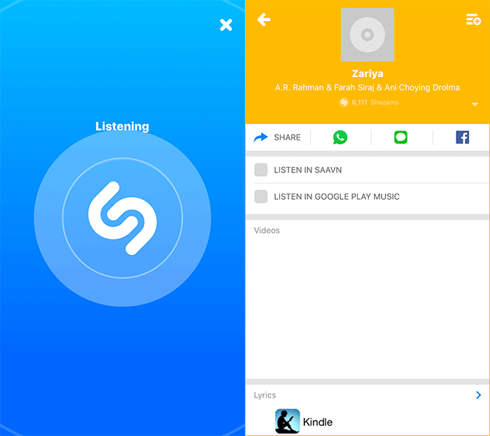 How to Use Offline Mode in Shazam on iPhone or iPad