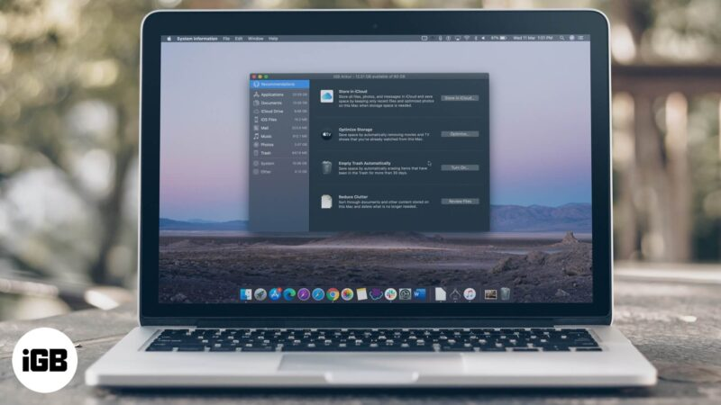 How to Use Optimize Mac Storage to Manage Files Perfectly