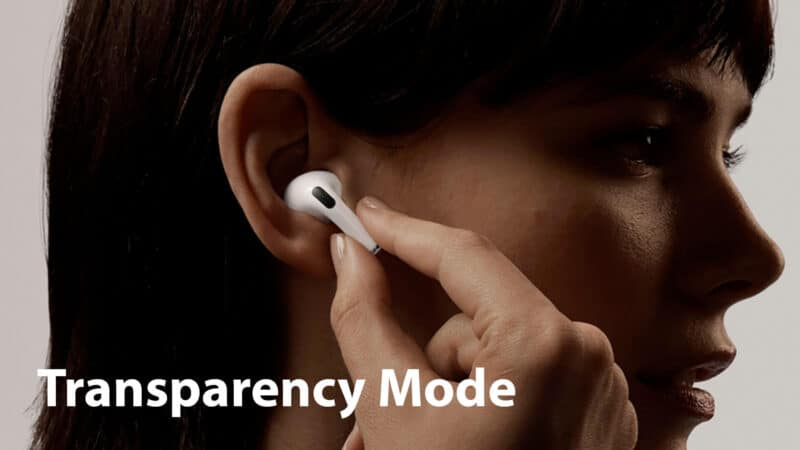 How to Use Transparency Mode With AirPods Pro