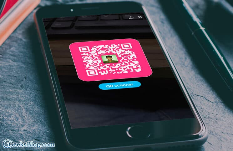 How to Use Twitter QR Code on iPhone