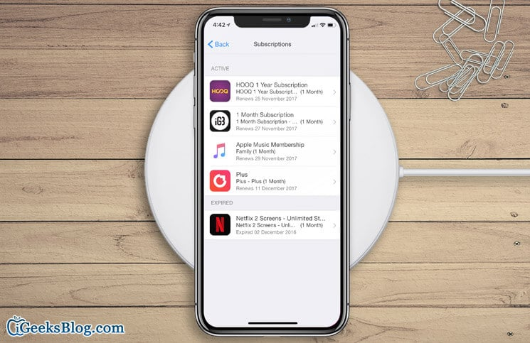 How to View App Store Subscriptions Status on iPhone, iPad, and iTunes