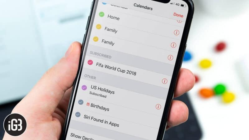 How to View Birthdays in Apple Calendar App on iPhone, iPad or Mac