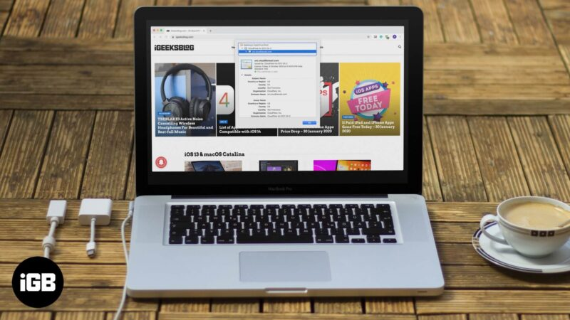 How to View Digital Certificates in Safari, Chrome, Firefox, Opera, and iPhone