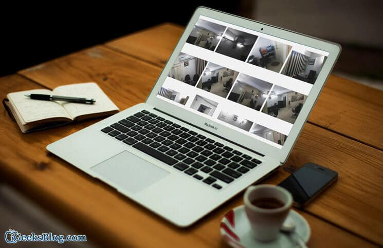 How to View Multiple Photos at Once on Mac using Quick Look Preview