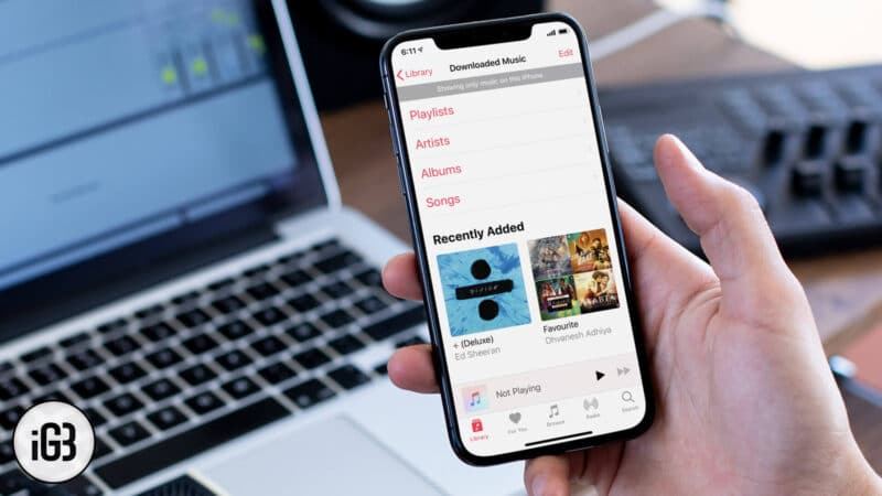 How to View Only Downloaded Music on iPhone or iPad