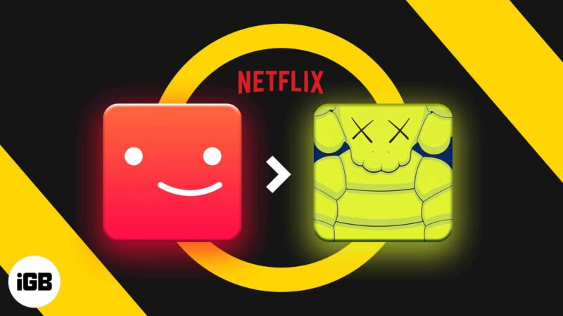 How to change your Netflix profile picture on iPhone