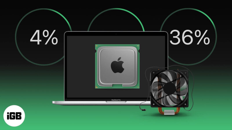How to check CPU temp and fan speed on Mac