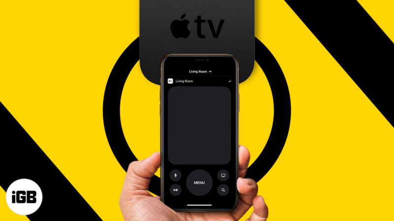 How to control Apple TV without remote using iPhone or iPad