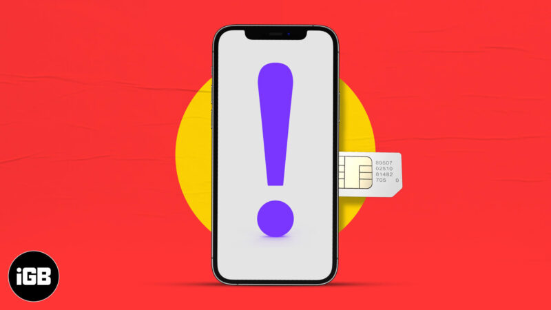 How to fix 'SIM not supported' error on iPhone