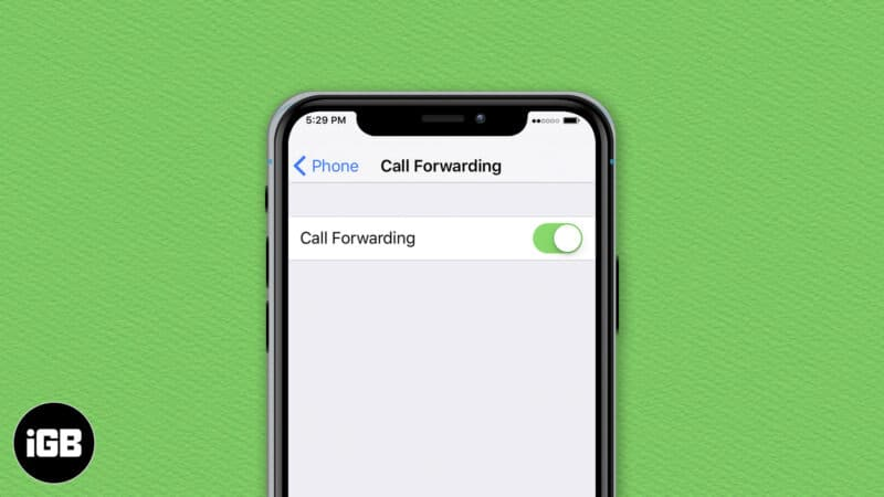 How to forward calls on an iPhone
