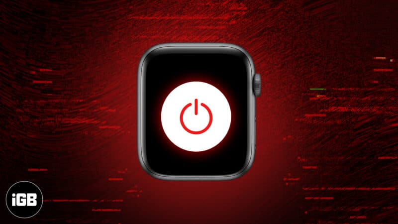 How to restart and hard reset Apple Watch