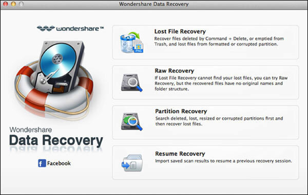 How to recover files from Memory card using Wondershare on Mac