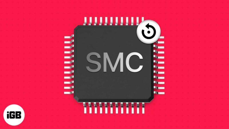 How to reset SMC on Mac