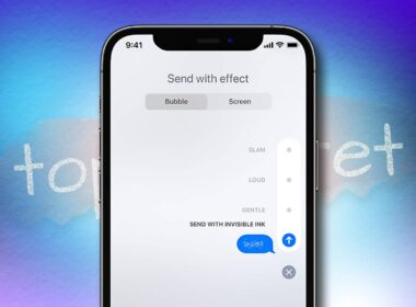 How to send Invisible Ink iMessages from iPhone and iPad