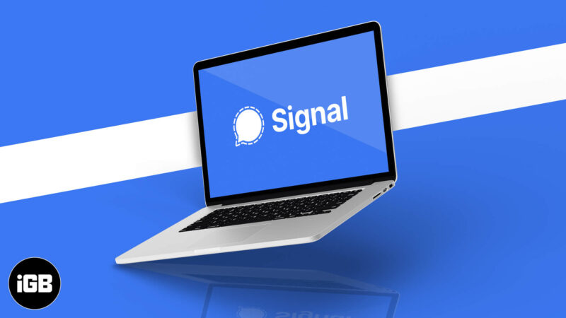 How to set up and use Signal on Desktop