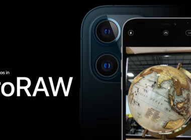 How to shoot photos in ProRAW on the iPhone