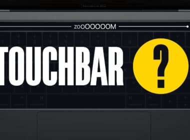 How to turn on and use Touch Bar Zoom on MacBook Pro