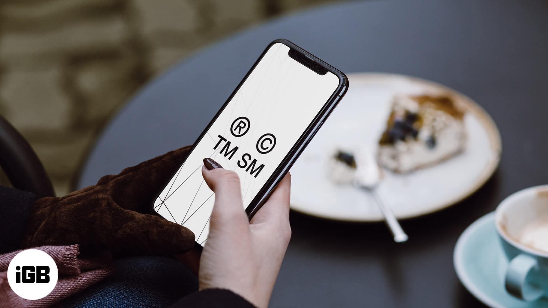 How to type trademark, copyright, registered symbols on iPhone and iPad