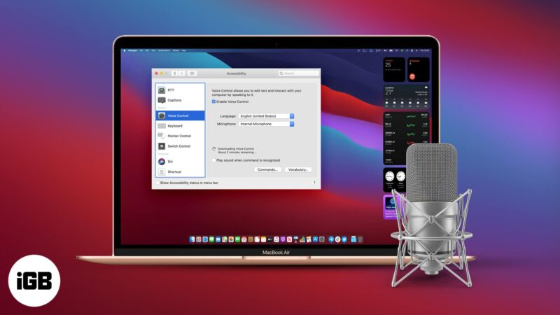 How to use Voice Control on Mac