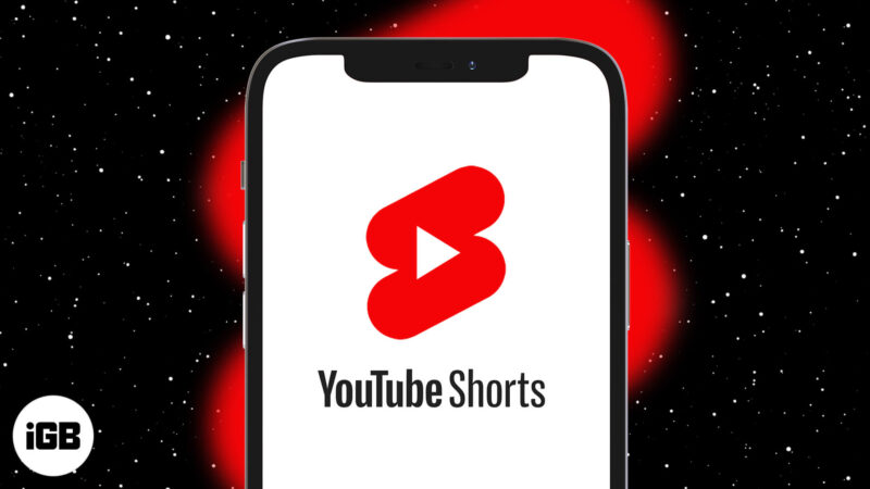 How to use YouTube Shorts on iPhone
