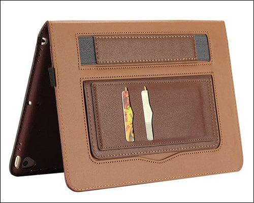 Hulorry iPad 9.7-inch 2018 Leather Case