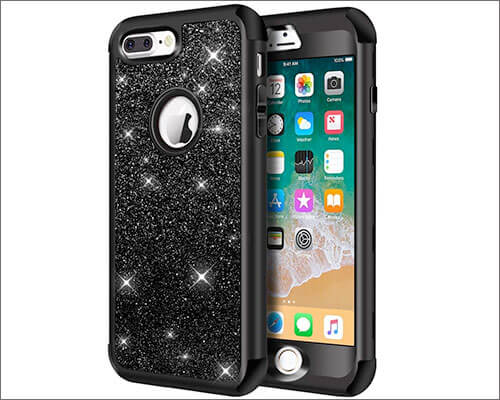 Hython iPhone 7 Plus Heavy Duty Case for Female