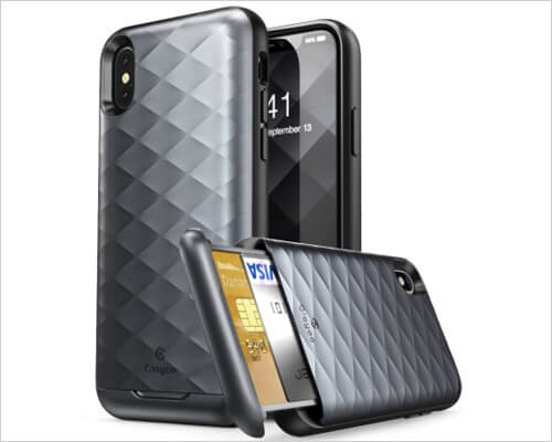 I-Blason Argos iPhone Xs Wallet Case