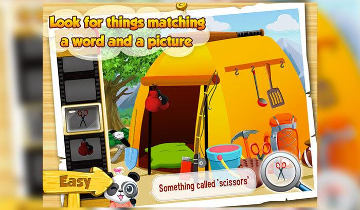 I Spy With Lola HD iPhone and iPad Game Screenshot